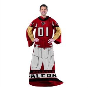 🏈Atlanta Falcons Wearable Comfy Blanket 🏈